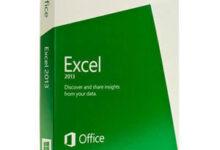 Boîte à logiciels Microsoft Excel