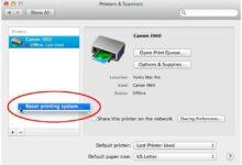 Réinitialiser le système d'impression de votre Mac pour résoudre les problèmes d'impression sous OS X