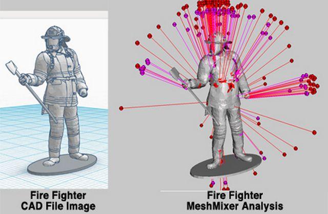 Réparation de fichiers 3D avec Meshmixer et NetFabb