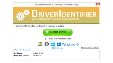 Revue de DriverIdentifier v5.2 (une mise à jour gratuite des pilotes)