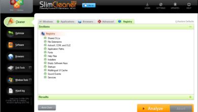 SlimCleaner Free v4.1.0.0 Review (Un nettoyeur de registre gratuit)