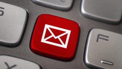 Supprimer tous les expéditeurs bloqués dans Windows Mail ou Outlook