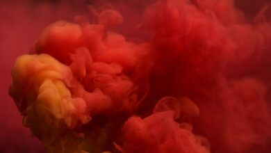 Symbolisme des couleurs pour les nuances de rouge sur le Web