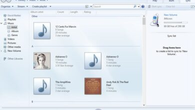 Synchroniser les fichiers média dans Windows Media Player
