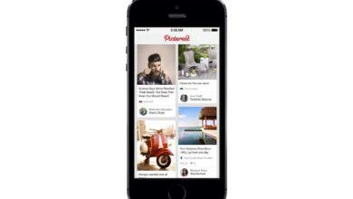 Un aperçu des applications Pinterest pour les téléphones mobiles