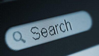 Champ de recherche sur le web