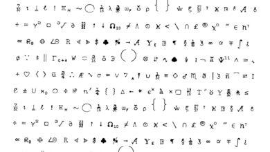 Utilisation des caractères spéciaux et des symboles des mots