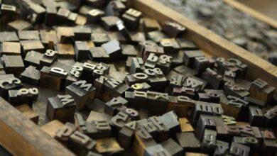 Utilisation d'une règle typographique dans la publication assistée par ordinateur