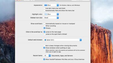 Utiliser le volet des préférences générales du Mac