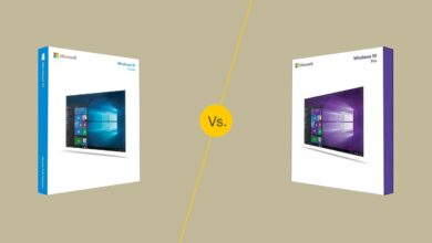 Windows 10 Home vs. Windows 10 Pro
