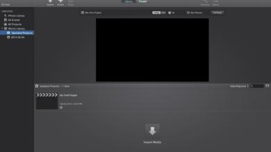 iMovie 10 Effets vidéo