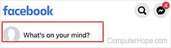 La boîte à idées de Facebook