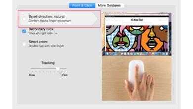Choisissez le défilement sur votre Mac : Naturel ou pas ?