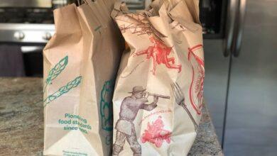 sacs d'épicerie